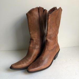 Matisse Anthropologie Boots Wichita Flower BOOTS 8